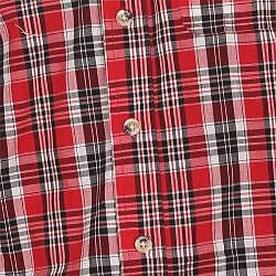 Farmall IH Men's Red Plaid Shirt - Thumbnail 2