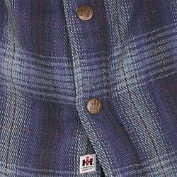Farmall IH Men's 'Brawny' Navy Plaid Flannel Shirt - Thumbnail 2