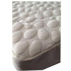 PebbleTex Waterproof Organic Cotton Queen-size Bed Bug Encasement Cover - Thumbnail 2