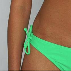 Island World Junior's Green Brazilian Cut 2-piece Bikini - Thumbnail 2