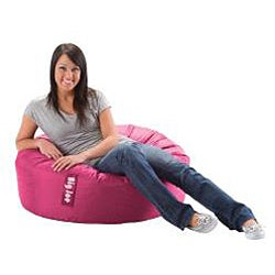 BeanSack Super Joe Fuchsia Pink Bean Bag Chair