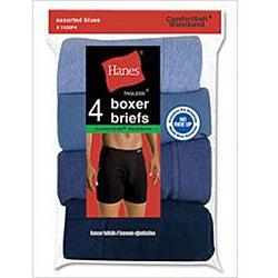 Hanes ComfortSoft Waistband Boxer Briefs (Pack of 4)