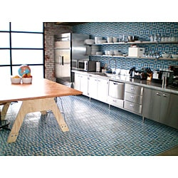 Granada Echo Collection Blue and White Cement Tiles (50 tiles)