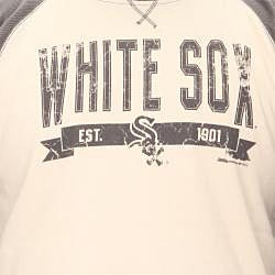 Stitches Men's Chicago White Sox Raglan Thermal Shirt - Thumbnail 2
