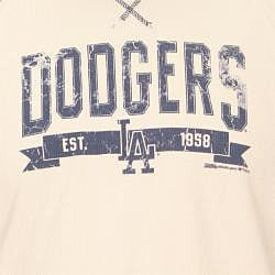 Stitches Men's LA Dodgers Raglan Thermal Shirt - Thumbnail 2