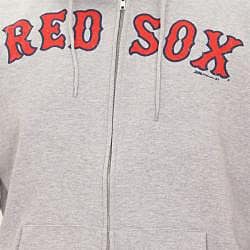 Stitches Men's Boston Red Sox Full Zip Hoodie - Thumbnail 2