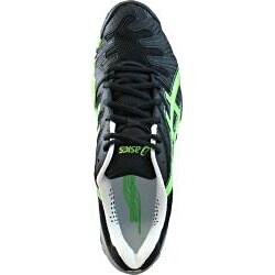 ASICS Men's Gel Resolution 4 Tennis Shoe with Memory Foam Heel