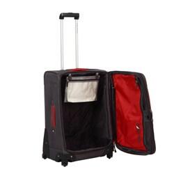 Nautica Downhaul Classic Grey/ Red 4-piece Luggage Set - Thumbnail 2