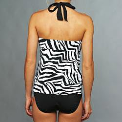 Jantzen Black and White Tankini - Thumbnail 2