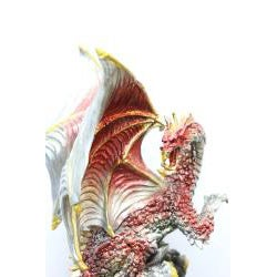 Red Dragon Figurine with Stainless-steel Sword Letter Opener - Thumbnail 2