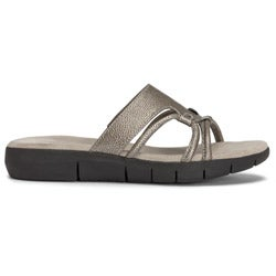 A2 by Aerosoles Women's 'Wip Current' Silver Sandals - Thumbnail 2