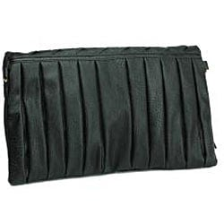 Urban Expressions 'Courtney' Black Clutch - Thumbnail 2