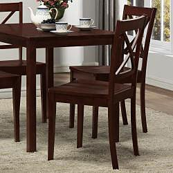 Norfolk 5-piece Dining Set with X Back Chairs - Thumbnail 2
