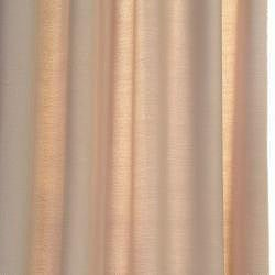 Exclusive Fabrics Cobblestone Faux Cotton Cotenza Curtain Panel - Thumbnail 2