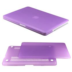 Rubberized PC Hard Case with Keyboard Cover and Screen Protector for 13-inch Macbook Pro - Thumbnail 2