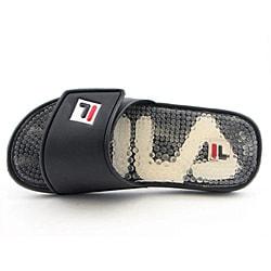 Fila Men's Massaggio Black Sandals