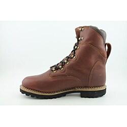 "Georgia Men's G8198 8"" Hammer WP400g Renegade Brown Boots Wide - Thumbnail 2"