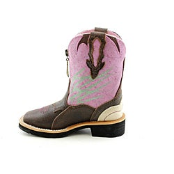 Ariat Girl's Zipitbaby Pink Boots