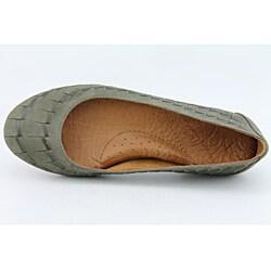 Naya Women's Begonia Green Casual Shoes Narrow