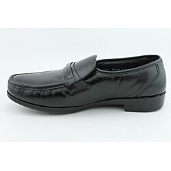 Bostonian Men's Prescott Black Dress Shoes Wide