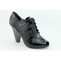 Naughty Monkey Women's Military Style Black Boots (Size 6.5) - Thumbnail 2