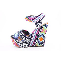 Steve Madden Women's Winonna Multi-Colored Sandals (Size 7.5) - Thumbnail 2