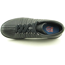 K Swiss Men's The Classic Black Casual Shoes (Size 10) - Thumbnail 2