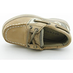 Sperry Top Sider Boy's Bluefish Beige Casual Shoes - Thumbnail 2