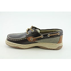 Sperry Top Sider Boy's Bluefish Brown Casual Shoes - Thumbnail 2