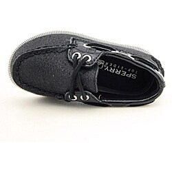 Sperry Top Sider Boy's A/O Black Casual Shoes