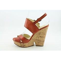 Enzo Angiolini Women's Damiana Orange Sandals