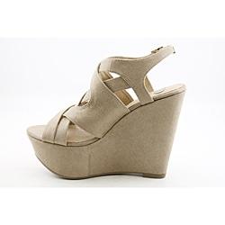 Kelsi Dagger Women's Nadeen Beige Dress Shoes