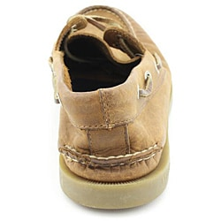 Sperry Top Sider Men's A/O 2-eye Brown Casual Shoes Wide - Thumbnail 2