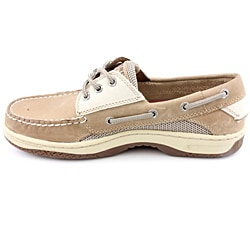 Sperry Top Sider Men's Billfish 3 Eye Beige Casual Shoes Wide - Thumbnail 2