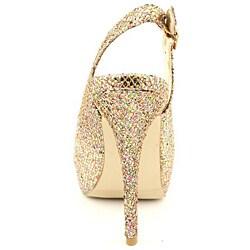 Madden Girl Women's Jassperr Gold Dress Shoes - Thumbnail 2