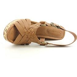 Corso Como Women's Diver Tan Sandals - Thumbnail 2