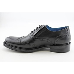Lounge By Mark Nason Men's Hoxton Black Dress Shoes - Thumbnail 2
