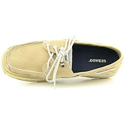 Sebago Men's Clovehitch II Beige Casual Shoes - Thumbnail 2