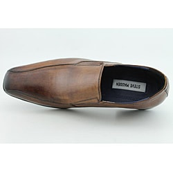Steve Madden Men's Squiree Brown Dress Shoes - Thumbnail 2