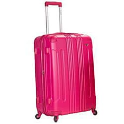 Rockland London Lightweight Magenta 3-piece Hardside Spinner Upright Luggage Set
