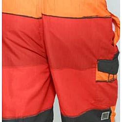 Zonal Men's Transporter E-Board Swim Shorts in High Risk Red - Thumbnail 2