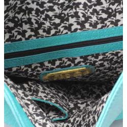 Urban Expressions 'Chelsea' Turquoise Clutch