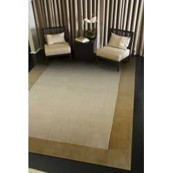 Hand-tufted Sand/ Tan Rug (3'6 x 5'6)