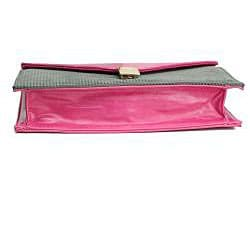 Urban Expressions Mariel Clutch in Berry and Grey - Thumbnail 2