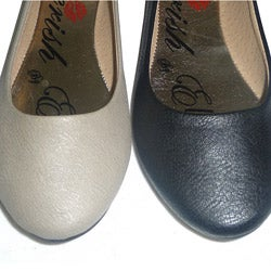I-Comfort Women's Round-toe Flats - Thumbnail 2