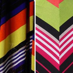 Tabeez Women's Chevron Maxi Skirt