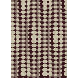 Admire Home Living Brilliance Circuit Area Rug (21 x 34) - Thumbnail 2