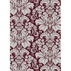 Admire Home Living Brilliance Damask Area Rug (21 x 34)