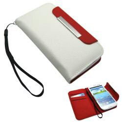 Premium Samsung Galaxy S3 PU Leather Wallet/ Card Holder
