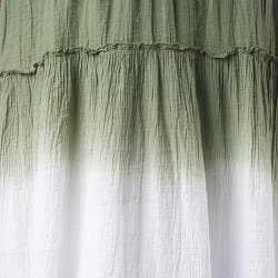 Tabeez Women's Dip Dye Voile Skirt